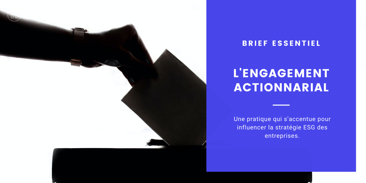 L'engagement actionnarial