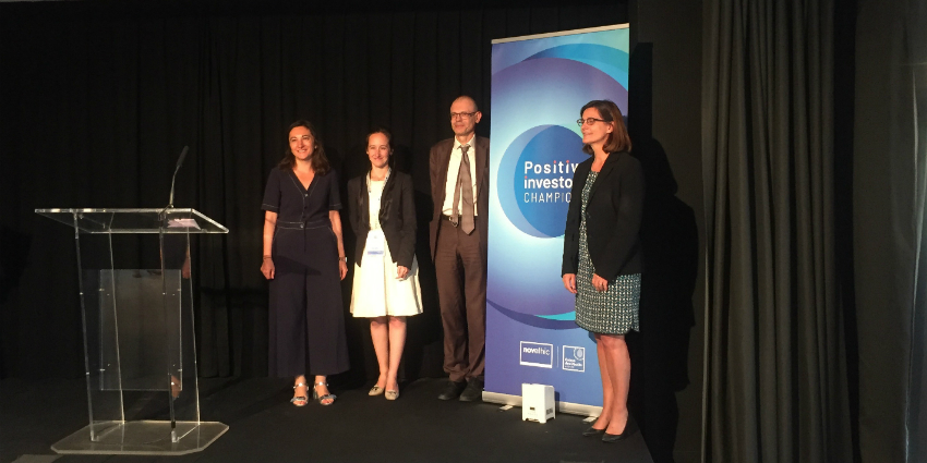 Positive Investors Champions 2019 : Novethic distingue les champions de la finance durable